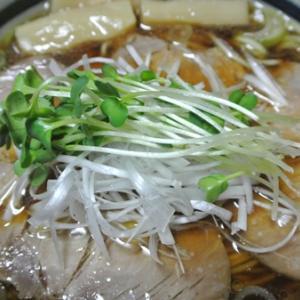 銘店伝説 しば田の袋生麺!醤油味  半生 アイランド食品