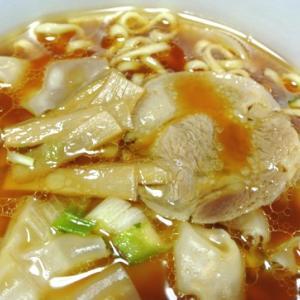 ワンタン増量、具沢山!とら食堂 ワンタン麺のカップ麺 明星 ファミリーマート