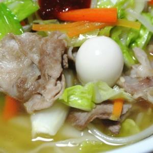 野菜たっぷりで食べたい、岐阜タンメンの袋生麺!寿がきや