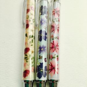 押し花 ボールペン オーダー品