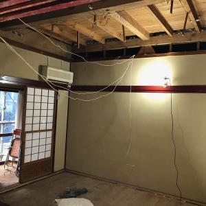 ●いよいよ建物修理が始まりました♪