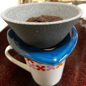 ●セラミックのコーヒーフィルター凄い♪