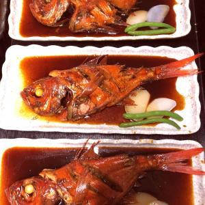 ●金目鯛煮魚付きプランが大人気♪
