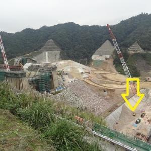 大分川ダムと道の駅のつはる完成