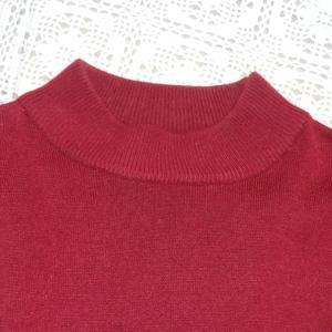既成のセーターにビーズなどの飾りはいかが?