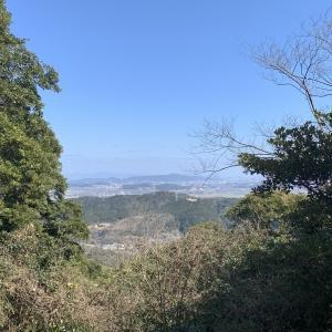 ジョギング&登山で戸田山(岡垣町)