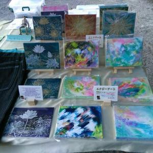 10月21日 京都・東寺『弘法市』アート出品のお知らせ。