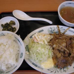 船橋グルメ 日高屋  船橋本町4丁目店で生姜焼き定食、餃子、イカ揚げを頂きました!大満足でした!