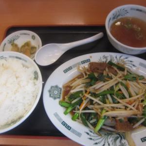 船橋グルメ 日高屋でニラレバ炒め定食、生姜焼き定食、餃子を頂きました!定番の定食に大満足!