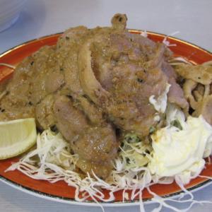船橋グルメ くるまやラーメンで生姜焼定食、味噌コーンラーメンを頂きました!生姜焼デカいス!