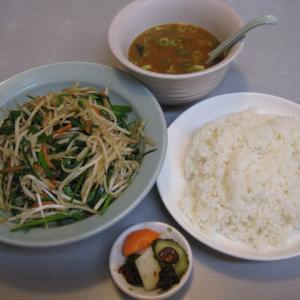 船橋グルメ くるまやラーメンでレバニラ炒め定食を頂きました!レバがデカい!野菜の量も半端ない!
