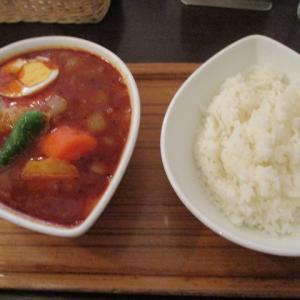 神田グルメ スープカレー屋 鴻(オオドリー)神田駿河台店でチキンスープカレーを頂きました!辛うまでした!
