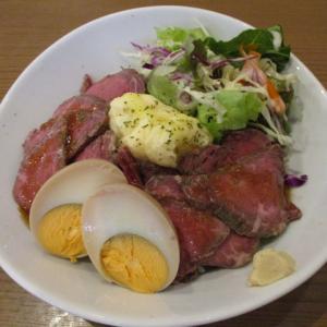 船橋グルメ 一九船橋南口本店で和牛ローストビーフ丼(980円)を頂きました!柔らかくてローストビーフに大満足! #食べよう船橋