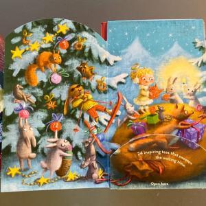 6日のハーブティー クリスマスカウントダウン