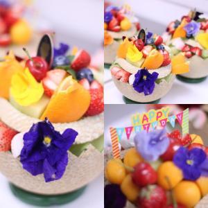 お家でフルーツ❗️・・・Fruit I wanaga