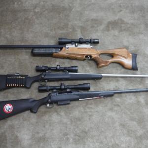 狩猟始まり