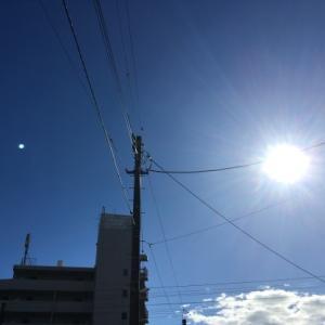 10月13日(日)その1:台風一過