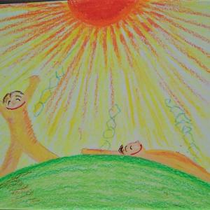 絵を描いてエネルギーを高める!