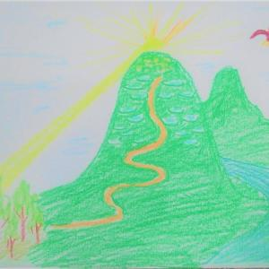 山の日★山の絵
