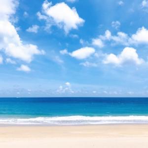 今日は海の日☆海でエネルギーチャージ