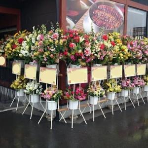 開店のお花~!(^O^)/