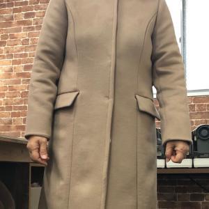 カシミヤ生地で好きなデザインのコートをハンドメイドで!ついに完成!!
