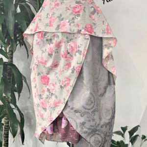 生徒さん作品☆作りたいお洋服!型紙がなければ型紙から作ればいい♪