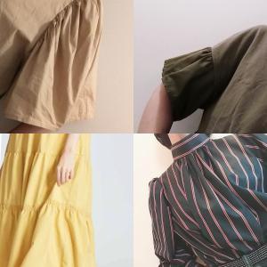 流行りのギャザー服を作るには〜♡②