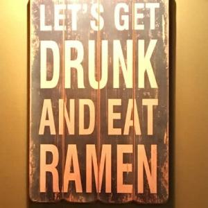 Let's get drunk and eat Ramen in Eilat - エイラット