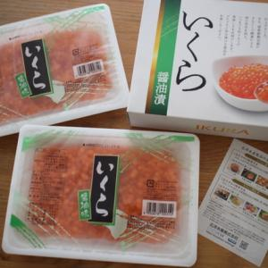 ふるさと納税のいくら醤油漬500g(北海道白糠町)