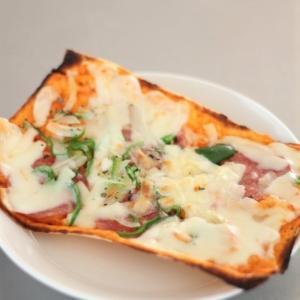 ピザとパンと、どら焼きと。
