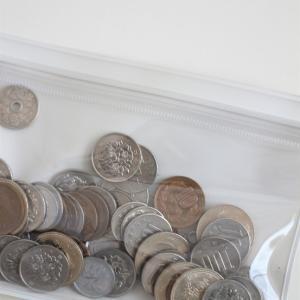 無印の片面クリアケースでお金の管理