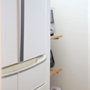 冷蔵庫の置き場所のこと、そして新しい冷蔵庫を待つ