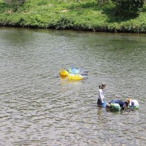 川へ! と、オルソケラトロジーの検査と娘のコンタクトデビュー