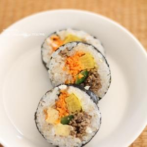 冷凍キンパと韓国料理、第3弾!