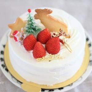 クリスマスケーキと、気になる電気鍋
