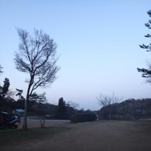 ときわ湖畔からおはようございます。
