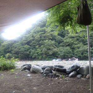 道志の入口キャンプ場から、おはようございます!