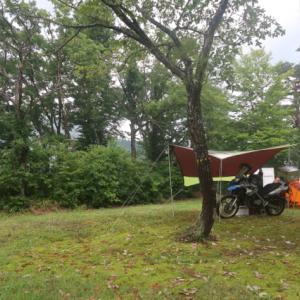奥会津・只見のキャンプ場からおはようございます!