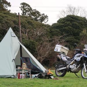 設営完了!森の牧場オートキャンプ場。