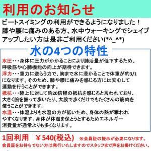 プールが540円で利用できます!【会員特典】