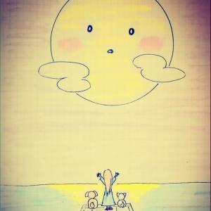 watching the moon ~未確認飛行物体~