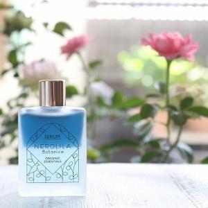 夏の終わりから秋のゆらぎ肌を自然の力でケアできる ネロリラボタニカの青い美容液