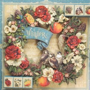 冬のリース