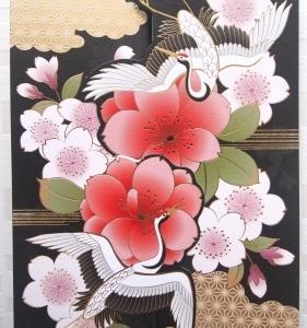 新作和柄キット 2020 鶴と桜