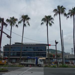 宇和島駅前周辺整備の状況(2020年7月)