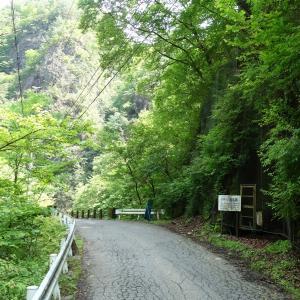 当初の小滝坑跡