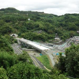 八幡浜道路 八幡浜IC付近の状況(2021.9月)