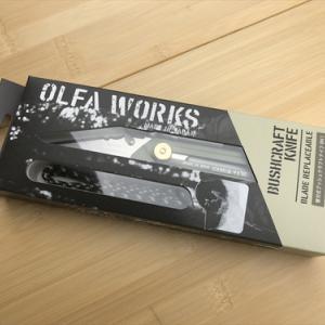 OLFA WORKS 「替刃式ブッシュクラフトナイフ BK1」
