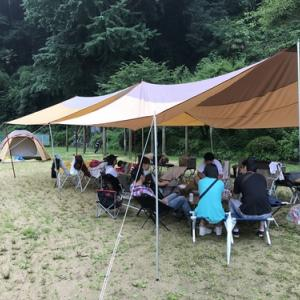 今年の海の日は軽~くキャンプ